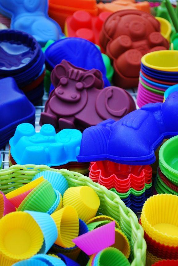 Moldes de silicona de diferentes modelos