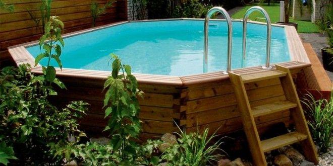Piscinas desmontables de madera baratas d nde comprar for Montar piscina desmontable