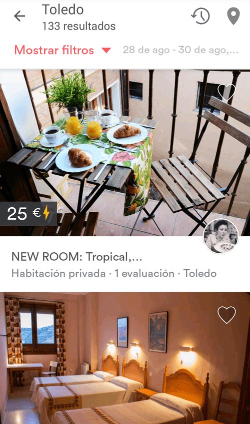 Alojamiento barato en Toledo y Madrid