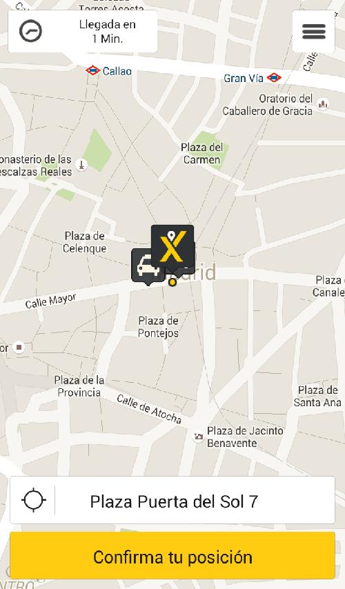 App para pedir taxi gratis