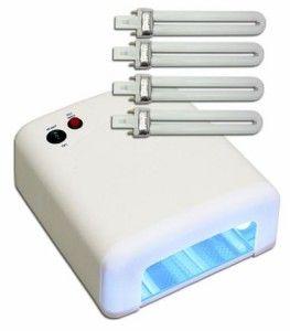 Lámpara para manicura permanente