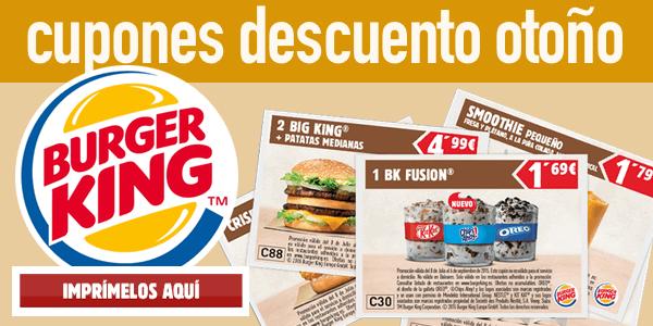 Cupones descuento burger king 2016