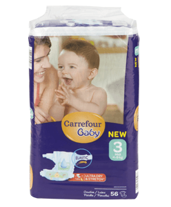 Pañales baratos Carrefour Baby