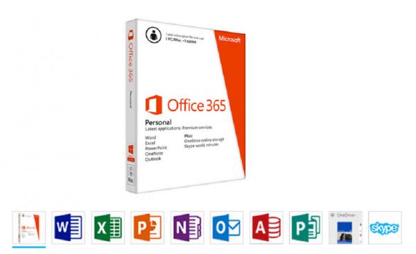microsoft office 365 personal 1 licencia 1 año