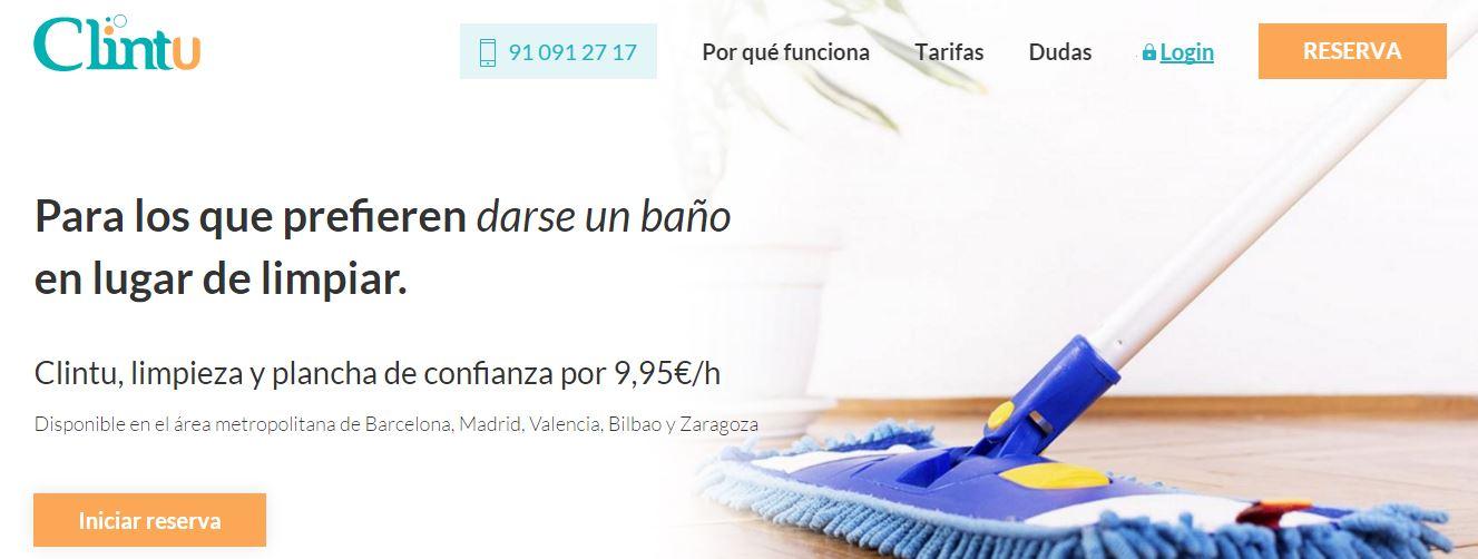 Limpieza a domicilio en Madrid