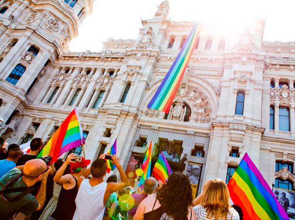 Banderas de gays