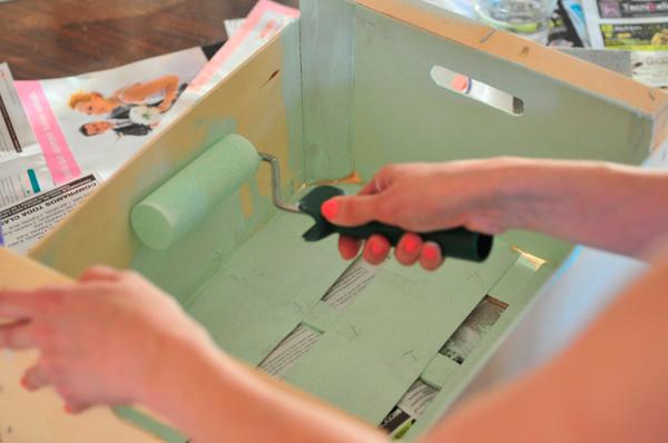 Decorar caja de madera