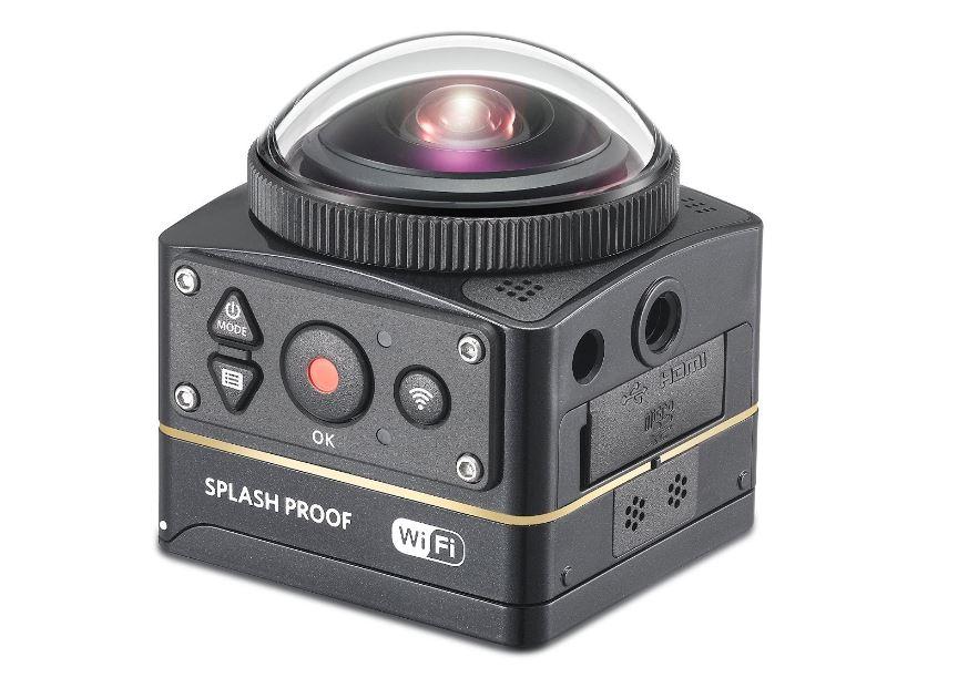 cámara 360 grados kodak 4K
