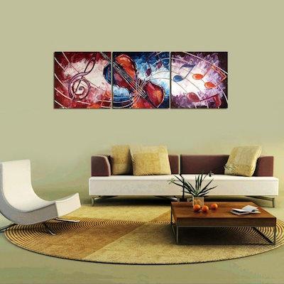 D nde comprar cuadros para sal n baratos online - Cuadros murales para pared ...