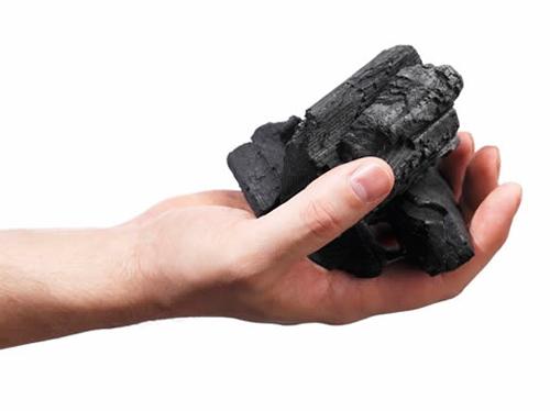Carbón vegetal para barbacoa