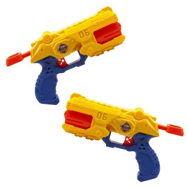 pistola de balas de goma