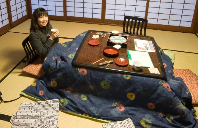 mesa camilla japonesa original