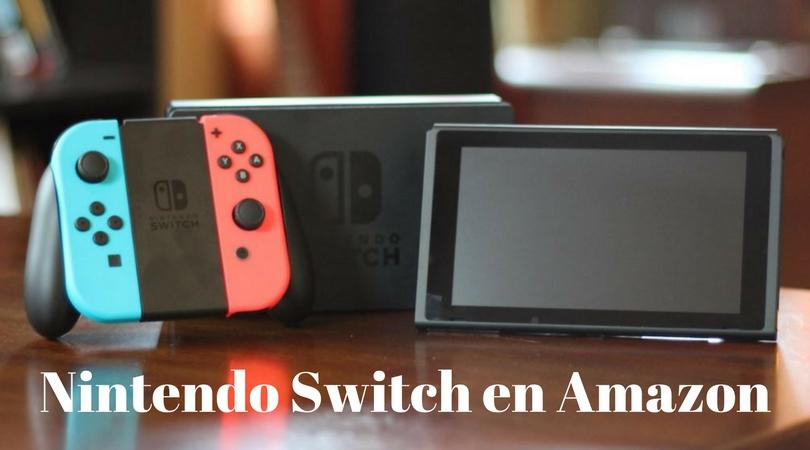 comprar Nintendo Switch en Amazon
