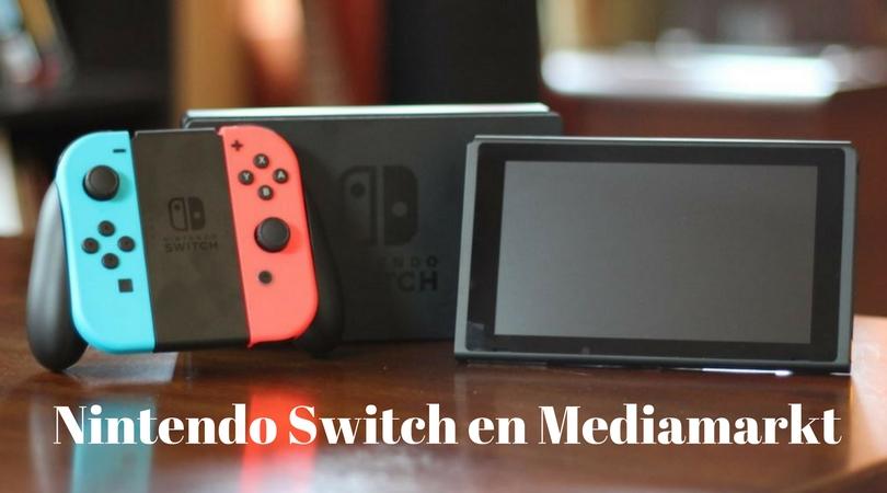 Nintendo Switch en Mediamarkt