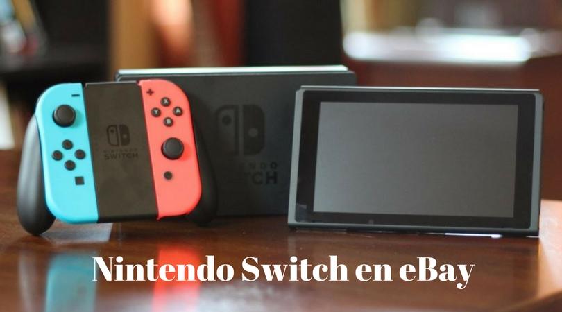 Nintendo Switch en eBay portal