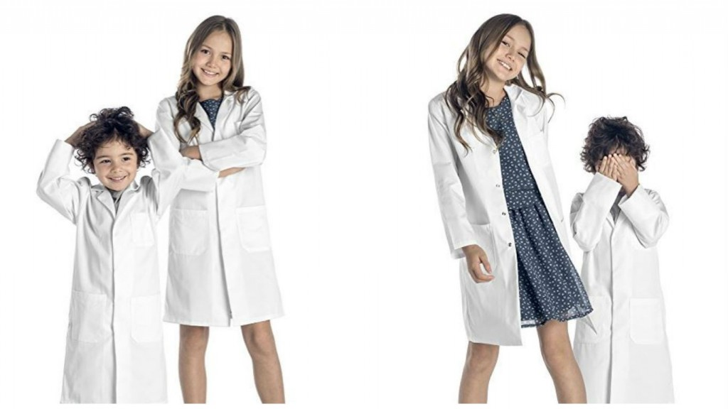 batas de laboratorio para niños