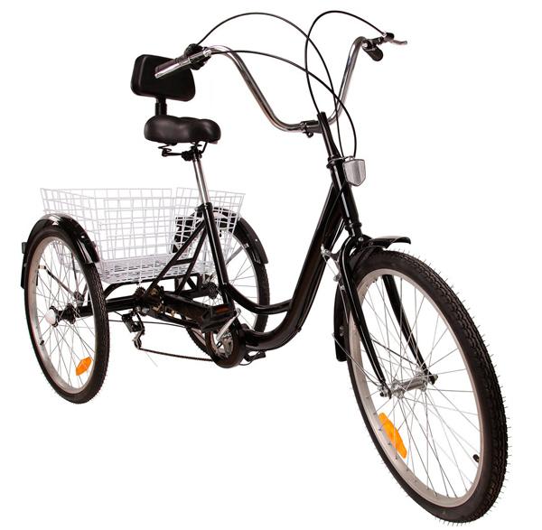 bicicleta tres ruedas adulto