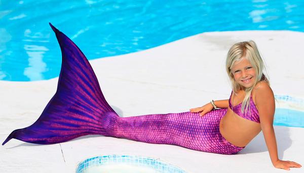 trajes de sirena para nadar