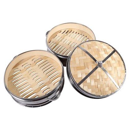 cesta de bambú