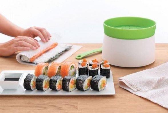 kit para hacer sushi en casa