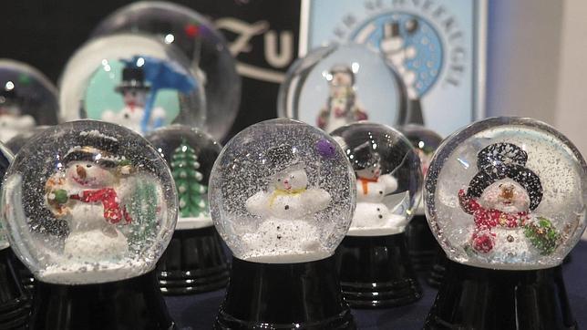 comprar bolas de cristal con nieve